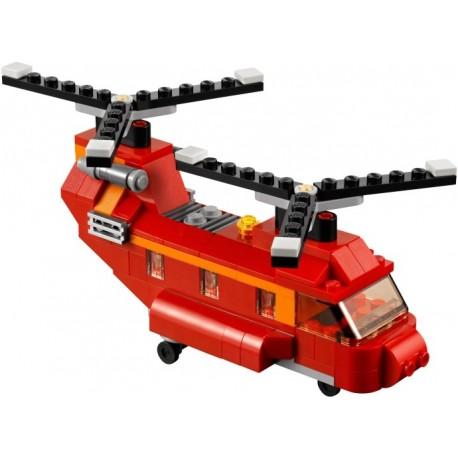 LEGO Creator - Helicóptero Vermelho - 145 pcs.) 2014