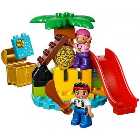 LEGO DUPLO - Jake e a Ilha do Tesouro (25pcs) 2014