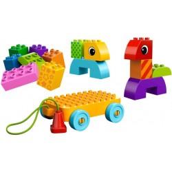 LEGO DUPLO - Cubos para Construir e Puxar - 2014