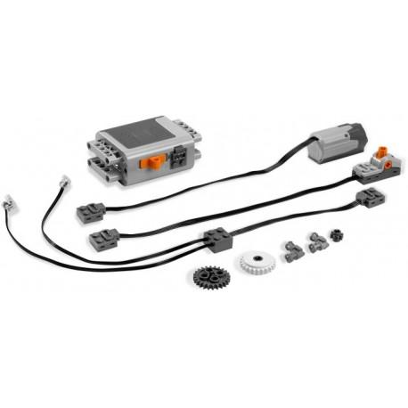 LEGO Technic - Conj. c/caixa pilhas, motor, 2 luzes, 1 int. (5 pcs.) 2017