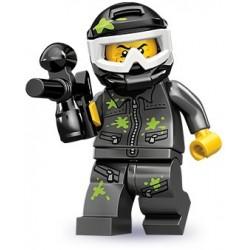 """LEGO MINIFIGURE - 10ª Série - """"Paintball Player"""""""