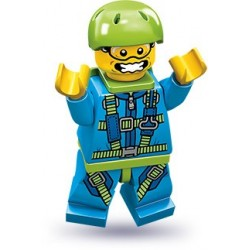 "LEGO MINIFIGURE - 10º Série - ""Skydiver"""