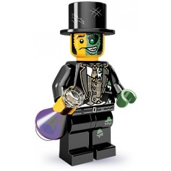 """LEGO MINIFIGURE - 9ª Série - """"Mr. Good and Evil"""""""