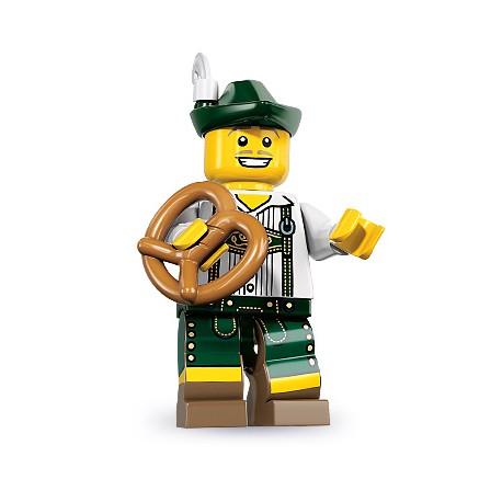 "LEGO MINIFIGURE - 8ª Série - ""Lederhosen Guy"""