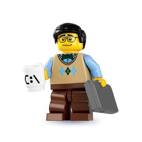 "LEGO MINIFIGURE - 7ª Série ""Computer Programmer"""