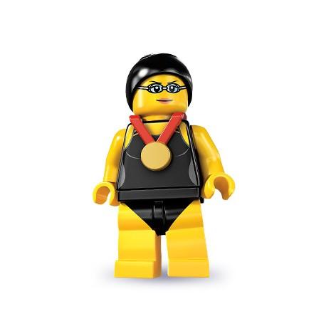 "LEGO MINIFIGURE - 7ª Série ""Swimming Champion"""