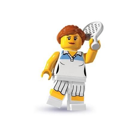 """LEGO MINIFIGURE - 3ª Série """"Tenista"""""""