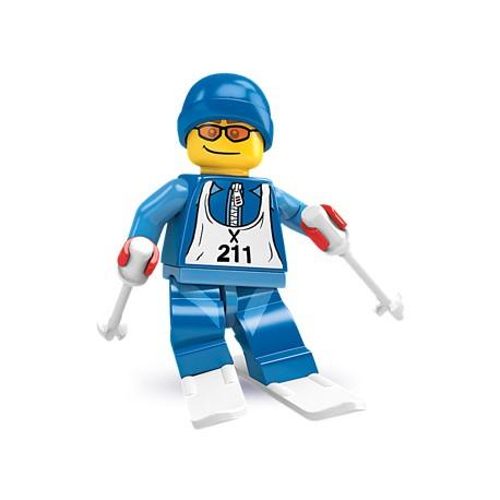 """LEGO MINIFIGURE - 2ª Série """"Esquiador"""""""