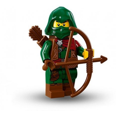 "LEGO MINIFIGURE - 16º Série - ""Rogue"""