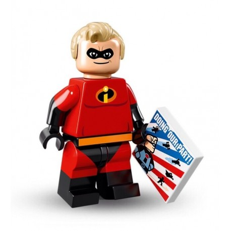 "LEGO MINIFIGURE - Série Disney - ""Mr. Incredible"""
