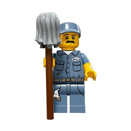 "LEGO MINIFIGURE - 15ª Série ""Janitor"""