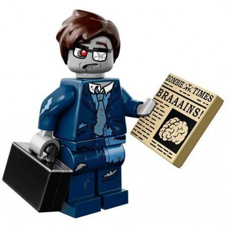 "LEGO MINIFIGURE - 14ª Série - ""Zombie Businessman"""