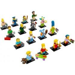 LEGO MINIFIGURE - Simpsons 1ª Série (Coleção 16 unidades)
