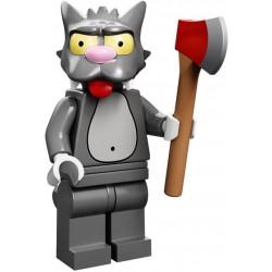 "LEGO MINIFIGURE - Simpsons 1ª Série - ""Scratchy"""
