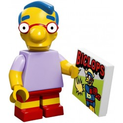 "LEGO MINIFIGURE - Simpsons 1ª Série - ""Milhouse Van Houten"""
