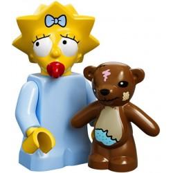 "LEGO MINIFIGURE - Simpsons 1ª Série - ""Maggie Simpson"""