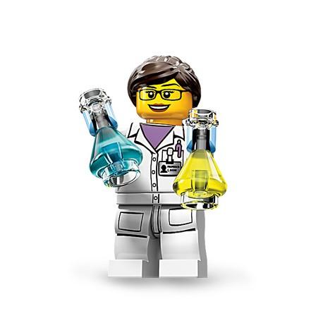 "LEGO MINIFIGURE - 11ª Série - ""Scientist"""