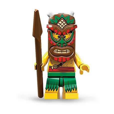 """LEGO MINIFIGURE - 11ª Série - """"Island Warrior"""""""