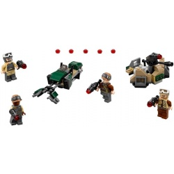 LEGO Star Wars Microfighters - Rebel Trooper Battle (120pcs) 2017