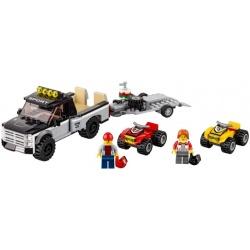 LEGO City - Equipa de Corrida de Todo-o-Terreno (239pcs) 2017