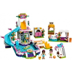 LEGO Friends - Piscina de Verão de Heartlake (589pcs) 2017