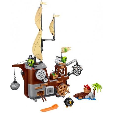 LEGO Angry Birds - O Barco Pirata de Piggy (620 pcs.) 2017