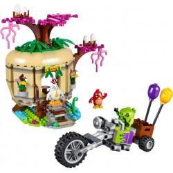 LEGO Angry Birds - O Assalto aos Ovos da Ilha (277 pcs.) 2017