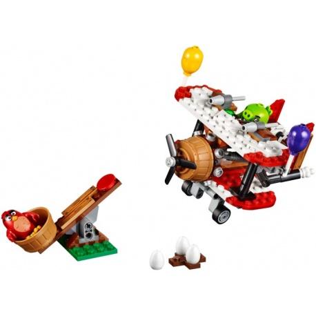 LEGO Angry Birds - O Ataque de Avião de Piggy (168pcs) 2017