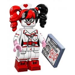"LEGO Minifigure Batman - ""Nurse Harley Quinn"" - 2017"