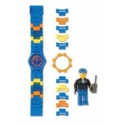"""LEGO EXCLUSIVO Acessórios - Relógio """"Polícia do Espaço"""" + minifiguer e acessórios"""