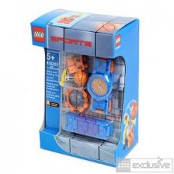 "LEGO EXCLUSIVO Acessórios - Relógio ""Jogador de Basket"" + minifiguer"