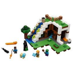 LEGO Minecraft - A Base da Cachoeira (729pcs) 2017