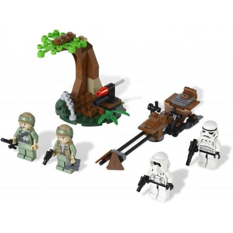LEGO STAR WARS - Endor Rebel Trooper Imperial Trooper Battle Pack