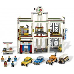 LEGO EXCLUSIVO CITY - Garagem urbana - Descontinuado