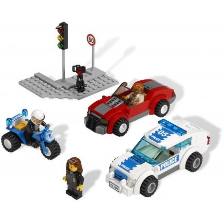 LEGO City - Perseguição da Polícia (173pcs) - Descontinuado