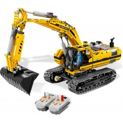 LEGO EXCLUSIVO TECHNIC - Escavadora Motorizada - (1127 pcs.) 2010 »