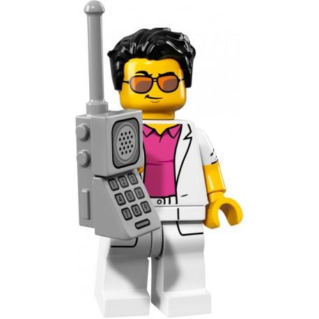 "LEGO Minifigure - 17ª Série ""Yuppie"""