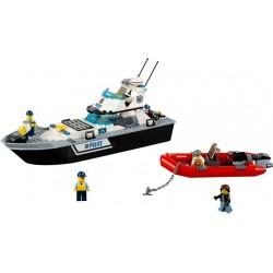 LEGO CITY - Barco patrulha da polícia (200 pcs.) 2017