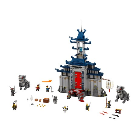 LEGO Ninjago - Temple of The Ultimate Ultimate Weapon (1403pcs.) 2017