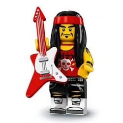 "LEGO Minifigure - Ninjago Movie ""Gong & Guitar Rocker"""