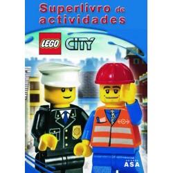 """LEGO CITY - Livro """"Superlivro de Actividades"""""""