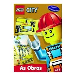 """LEGO CITY - Livro """"As Obras"""" c/actividades"""