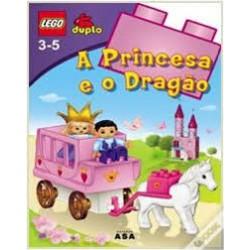"""LEGO DUPLO - Livro """"A Princesa e o Dragão"""" c/actividades"""