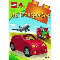 """LEGO DUPLO - Livro """"Os Transportes"""" c/actividades"""