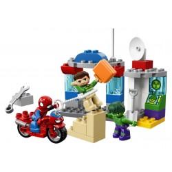 LEGO DUPLO Super Heroes - AS Aventuras Sider-Man e Hulk (38pcs) 2018