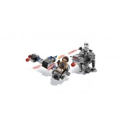 LEGO Star Wars - Ski Speeder V. Walker da Primeira Ordem (216pcs) 2018
