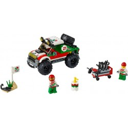 LEGO CITY - 4X4 Todo-o-terreno (176 pcs.) 2016