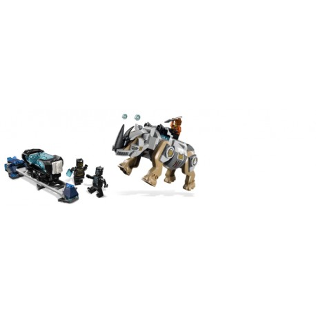 LEGO Super Heroes - Rhino Face - Off by The Mine (229pcs) 2018