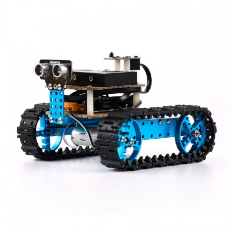 Robótica - Robô Educativo MBOT Azul Starter KIT Bluetooth - 90005