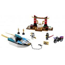 LEGO Junior - Persiguição de Barco Ninja do Zane (131pcs) 2018